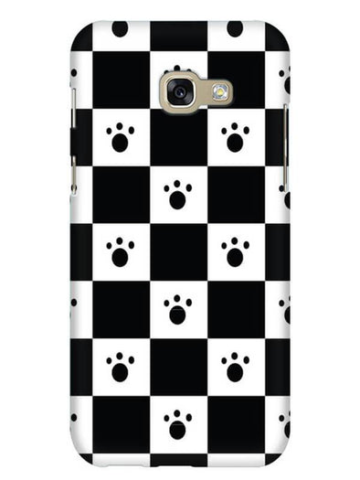 Paw Checkers Mobile Cover for Galaxy A3 2017