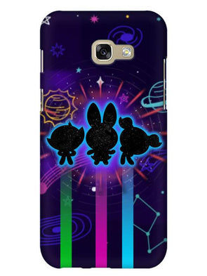 Glow Girls Mobile Cover for Galaxy A3 2017