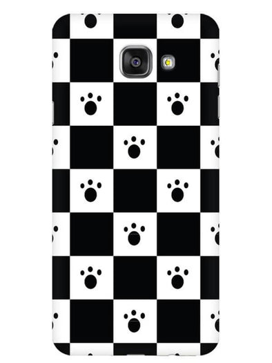 Paw Checkers Mobile Cover for Galaxy A5 2016