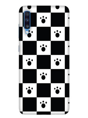 Paw Checkers Mobile Cover for Galaxy A70