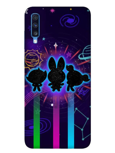 Glow Girls Mobile Cover for Galaxy A70