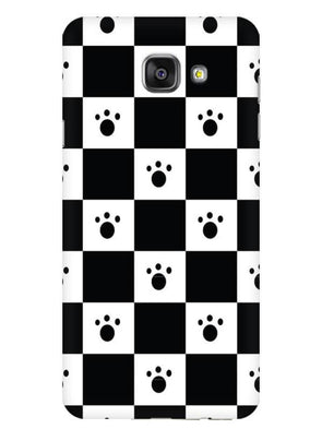 Paw Checkers Mobile Cover for Galaxy A7 2016