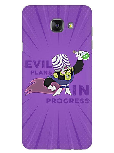 Evil Plan Mojojojo Mobile Cover for Galaxy A7 2016