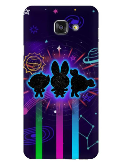 Glow Girls Mobile Cover for Galaxy A7 2016