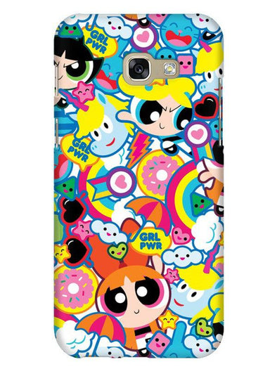 Girl Power Mobile Cover for Galaxy A7 2017