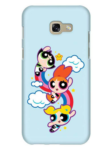 Girls Fun Mobile Cover for Galaxy A7 2017