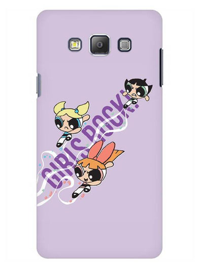 Girls Rocks Mobile Cover for Galaxy A7