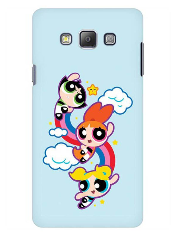 Girls Fun Mobile Cover for Galaxy A7