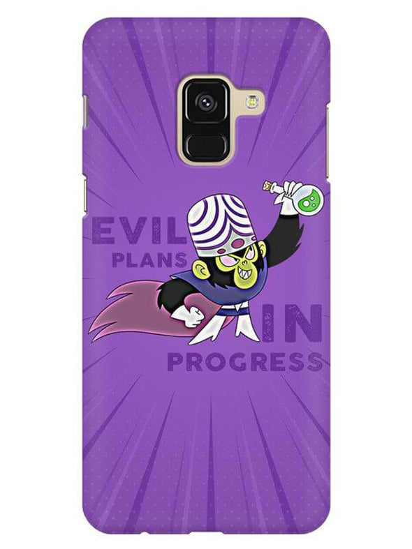 Evil Plan Mojojojo Mobile Cover for Galaxy A8 2018