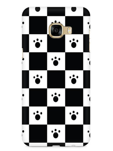 Paw Checkers Mobile Cover for Galaxy C5 Pro