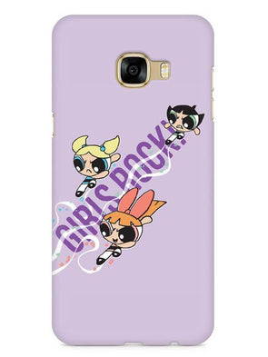 Girls Rocks Mobile Cover for Galaxy C5 Pro