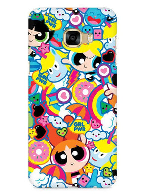 Girl Power Mobile Cover for Galaxy C7 Pro