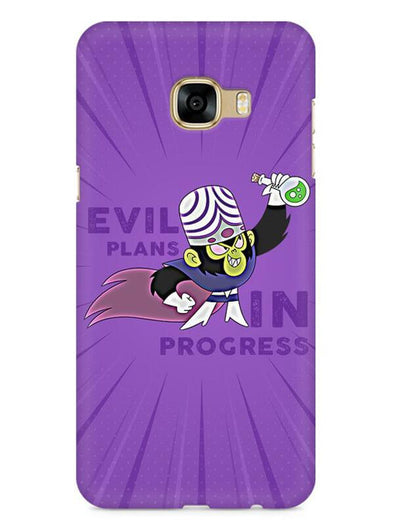 Evil Plan Mojojojo Mobile Cover for Galaxy C7 Pro