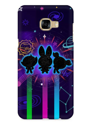 Glow Girls Mobile Cover for Galaxy C7 Pro