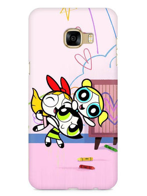 Powerpuff Girls Mobile Cover for Galaxy C7 Pro