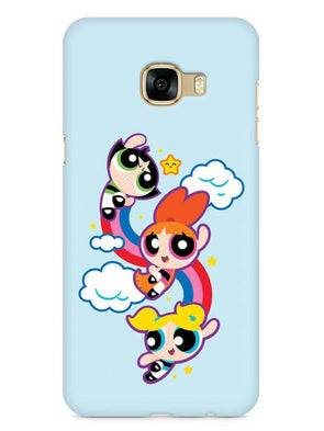 Girls Fun Mobile Cover for Galaxy C7 Pro