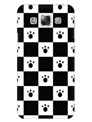 Paw Checkers Mobile Cover for Galaxy Grand 2
