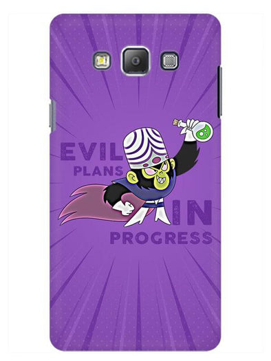 Evil Plan Mojojojo Mobile Cover for Galaxy Grand Prime