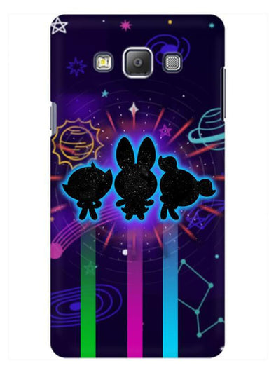Glow Girls Mobile Cover for Galaxy Grand Prime