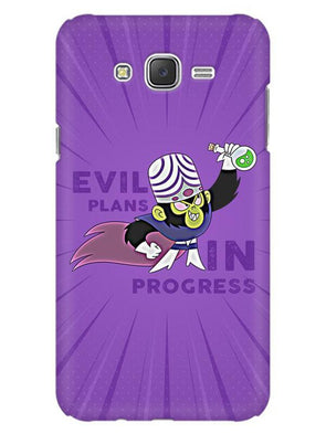 Evil Plan Mojojojo Mobile Cover for Galaxy J1 2016