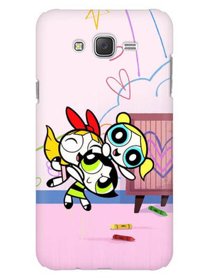 Powerpuff Girls Mobile Cover for Galaxy J1 ACE