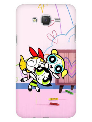 Powerpuff Girls Mobile Cover for Galaxy J2