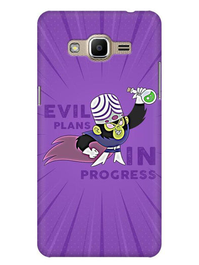 Evil Plan Mojojojo Mobile Cover for Galaxy J2 Prime