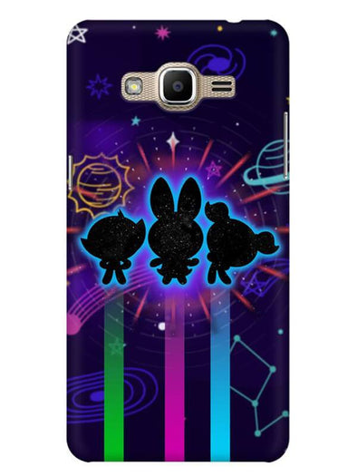 Glow Girls Mobile Cover for Galaxy J2 Prime