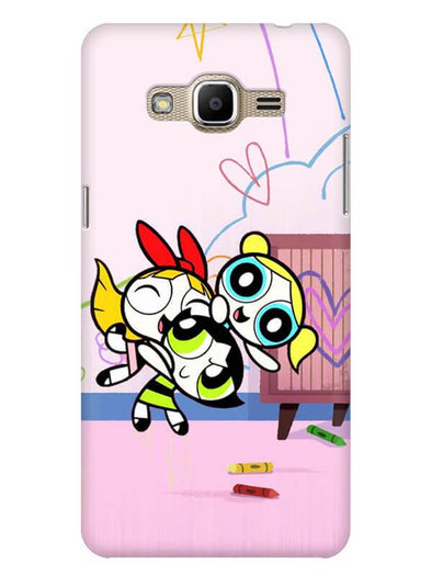 Powerpuff Girls Mobile Cover for Galaxy J2 Prime
