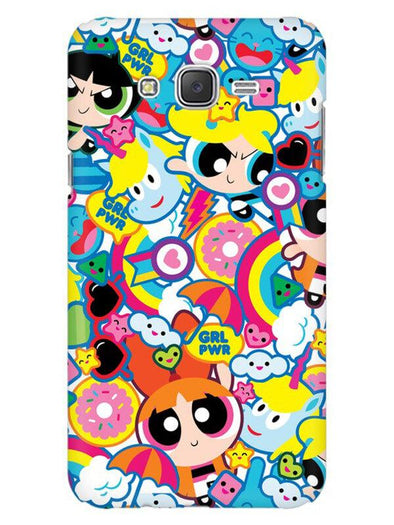 Girl Power Mobile Cover for Galaxy J5