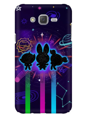 Glow Girls Mobile Cover for Galaxy J5