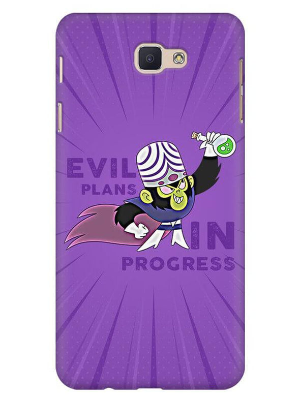 Evil Plan Mojojojo Mobile Cover for Galaxy J5 Prime