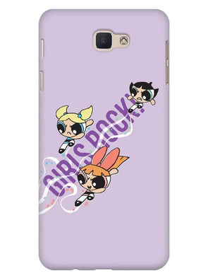 Girls Rocks Mobile Cover for Galaxy J5 Prime