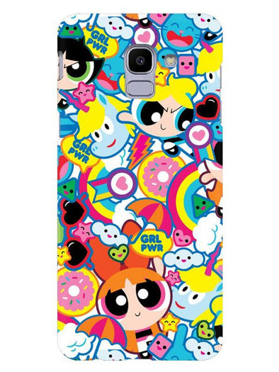 Girl Power Mobile Cover for Galaxy J6
