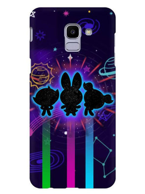 Glow Girls Mobile Cover for Galaxy J6