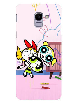 Powerpuff Girls Mobile Cover for Galaxy J6