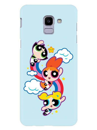 Girls Fun Mobile Cover for Galaxy J6