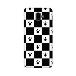 Paw Checkers Mobile Cover for Galaxy J6