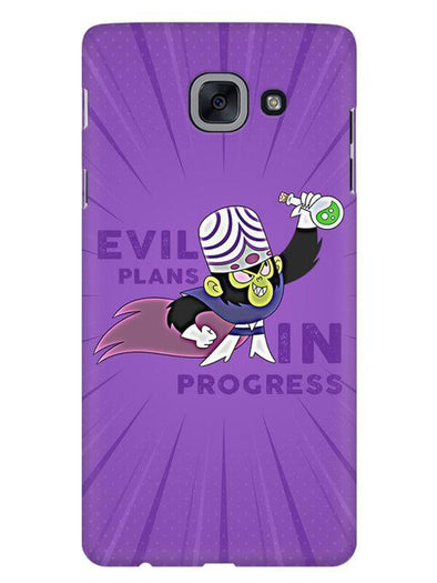Evil Plan Mojojojo Mobile Cover for Galaxy J7 Max