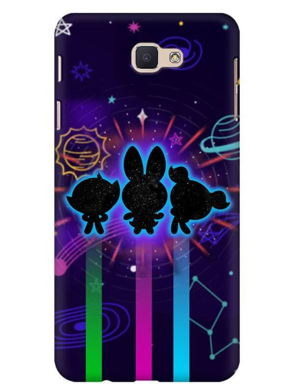 Glow Girls Mobile Cover for Galaxy J7 Prime