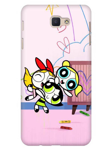 Powerpuff Girls Mobile Cover for Galaxy J7 Prime