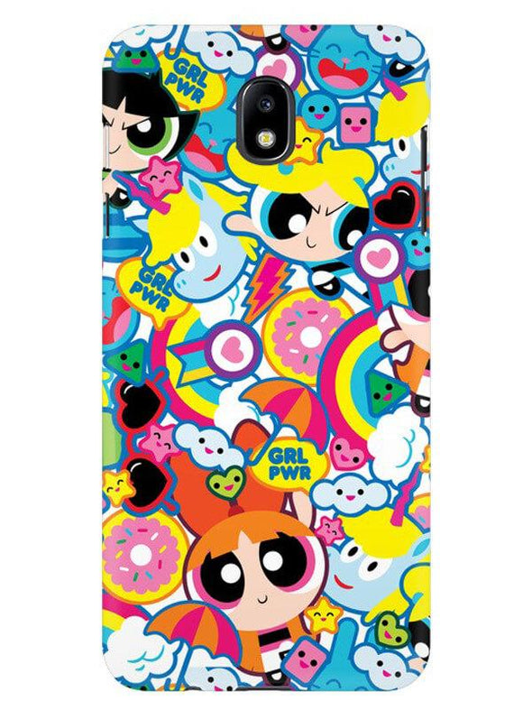 Girl Power Mobile Cover for Galaxy J7 Pro