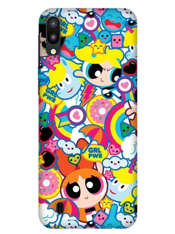 Girl Power Mobile Cover for Samsung M10