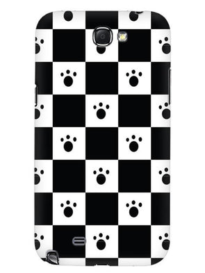 Paw Checkers Mobile Cover for Samsung Note 2