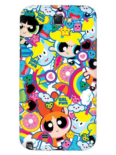 Girl Power Mobile Cover for Samsung Note 2