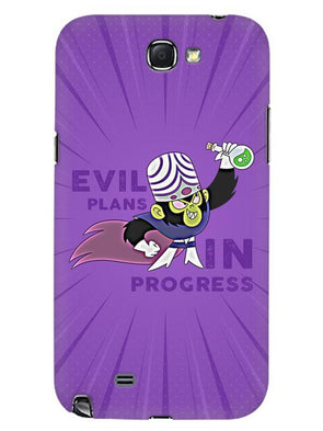Evil Plan Mojojojo Mobile Cover for Samsung Note 2