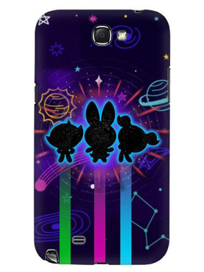 Glow Girls Mobile Cover for Samsung Note 2