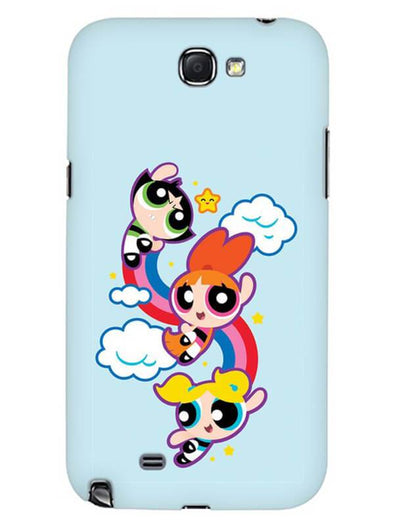 Girls Fun Mobile Cover for Samsung Note 2