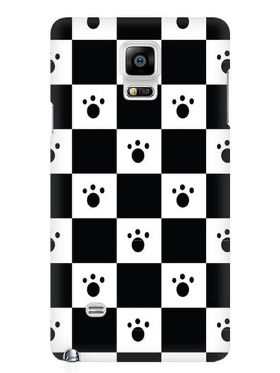 Paw Checkers Mobile Cover for Samsung Note 4