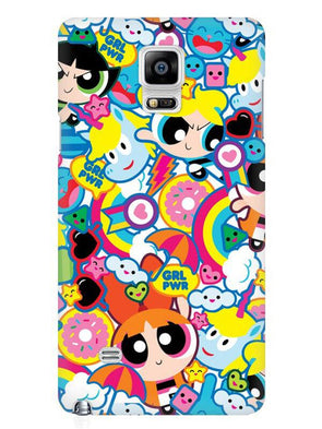 Girl Power Mobile Cover for Samsung Note 4